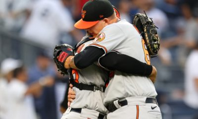 Orioles rally to lock up rare series win on the road against Yankees