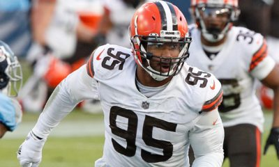 Browns' Myles Garrett: Chiefs RB coach should have been ejected in addition to Ronnie Harrison