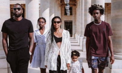 See Gabrielle Union's Family Pics at the Louvre in Paris